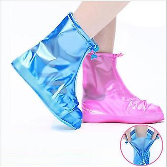 Cubiertas impermeables de zapatos de lluvia reutilizables
