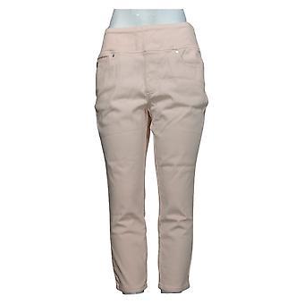 Belle By Kim Gravel Women's Jeans Belle Curve Jegging Pink A392574