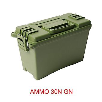 Ammo Box Military Style Plastic Storage Can Heavy Duty Caliber Bulk Ammo