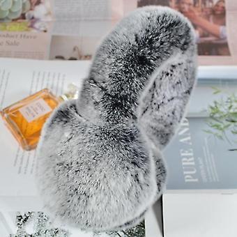 겨울 야외 방풍 여성 리얼 렉스 토끼 모피 귀덮개