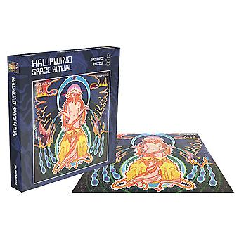 Hawkwind Jigsaw Puzzle Space Ritual Album Cover new Official 500 Piece