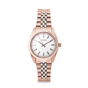 Tayroc launton rose gold 31mm analog watch