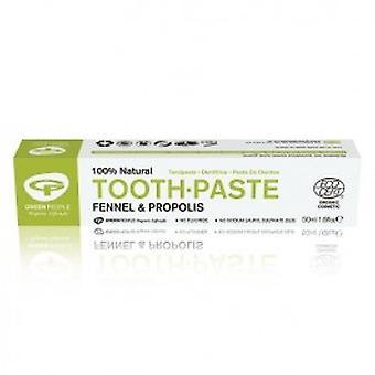 绿色人 - 芬内尔和蜂胶牙膏 50ml