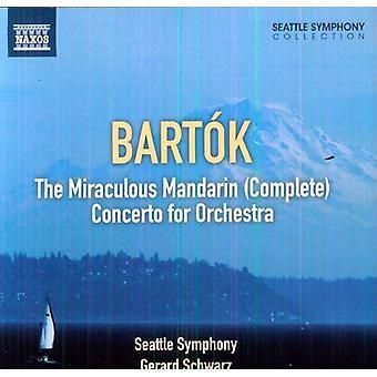 B. Bartok - Bart K: The Miraculous Mandarin; Concerto for Orchestra [CD] USA import