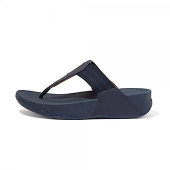 FitFlop Fitflop Walkstar™ Toe Post Sandals In Navy