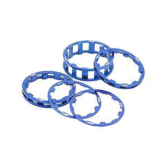 Box Zero Stem Spacer Kit Blue 1 1/8