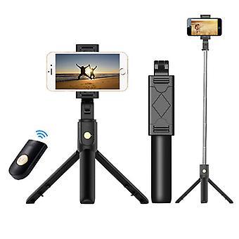 3 in 1 taitettava langaton Bluetooth Selfie Stick iphonelle / Androidille / Huaweille