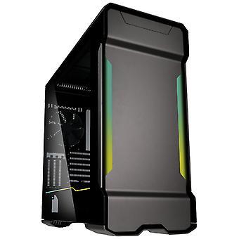 Phanteks Enthoo Evolv X Digitální midi tower skleněné herní pouzdro - Gunmetal Grey