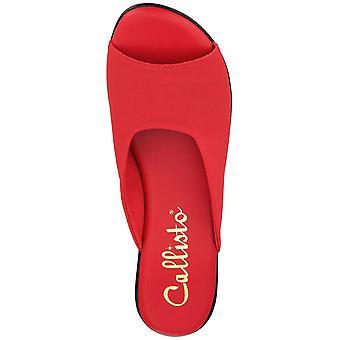 Callisto Womens Bossy Slide Wedge sandals