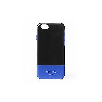 Jack Spade Shock Absorbing Case for iPhone 6 Plus/6S Plus - Black/Blue