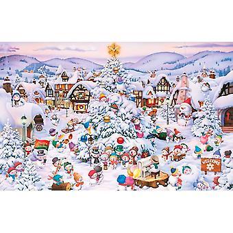 Piatnik Ruyer Weihnachtschor Puzzle (1000 Teile)