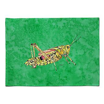 Caroline's Treasures 8849PLMT Heuschrecke auf grünem Stoff Tischset, mehrfarbig