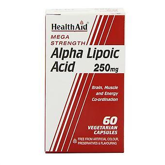 HealthAid Alfa Lipoic Acid 250mg Vegicaps 60 (802350)