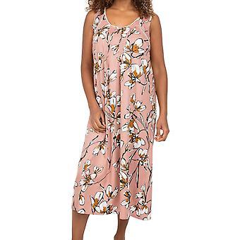 Cyberjammies Nora Rose Audrey 1549 Women's Pink Forest Cotton Nightdress