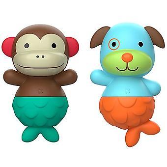 Skip-Hop Mix & Match Monkey & Hundbad leksaker