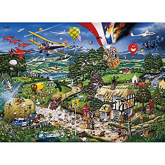 Gibsons Jigsaw Puzzle I Love the Country 1000 pieces Mike Jupp