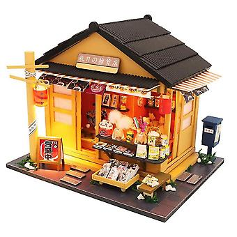 Wooden Japanese Grocery Store