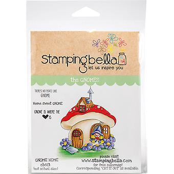 Stamping Bella Cling Stamps - Gnome Home