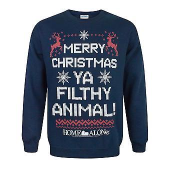 Home Alone Unisex Adults Filthy Animal Christmas Sweatshirt