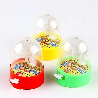 Cute Mini Basketball Machine Handheld Finger Ball Reduce Pressure Player