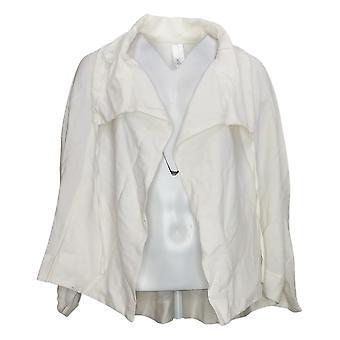 WynneLayers Women's Jacket Reg Sedona with Drawstring Collar Ivory 741390