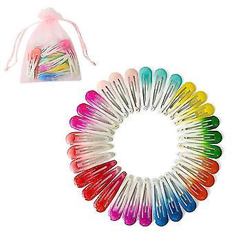 Süße tropfenförmige Clip Mode Baby Haarnadeln