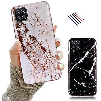 Samsung Galaxy A12 / A12 5g - Shell / Schutz / Marmor