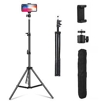 Einstellbare 1.6M Stativ Ständer Handy Kamera & Halter mit Tragetasche