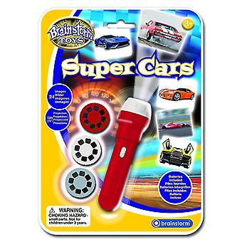 Board games e2047 super cars torch