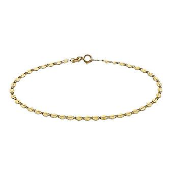9ct gouden starburst armband voor vrouwen elegante sieraden 7.25 & in glanzende afwerking