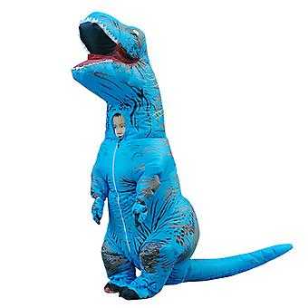 Blue Children Tyrannosaurus Rex Inflatable Clothing Children's Dinosaur Costume