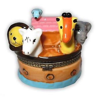 Noah's Noahs Ark Animals Elephant Trinket Box phb