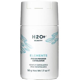 H2O Plus elementen verse poeder Exfoliator 1.7oz / 50g