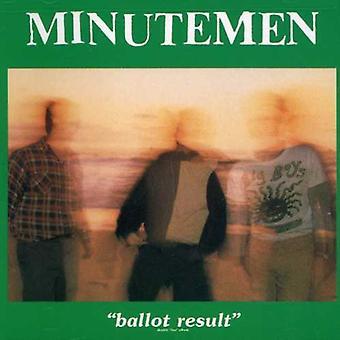Minutemen - Ballot Result [CD] USA import