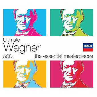 Wagner final - Ultimate Wagner: as obras-primas essenciais [Box Set] [CD] EUA importar
