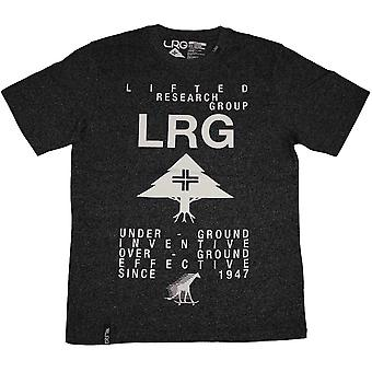 Lrg The Message T-shirt Black Heather