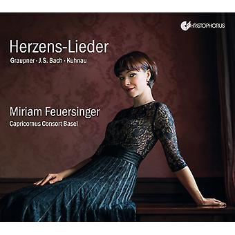 Bach, J.S. / Feuersinger, Miriam - Herzens-Lieder [CD] USA import