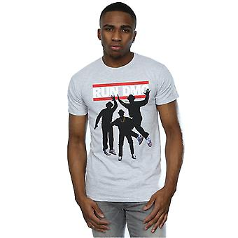 Run DMC mannen silhouet sprong T-Shirt