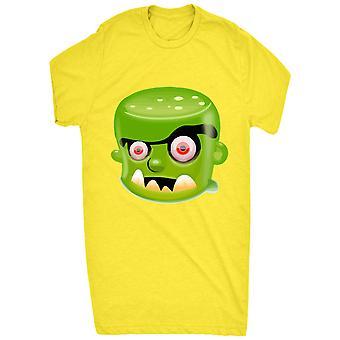 Cool Creepy Frankenstein Head_vectorized per i bambini