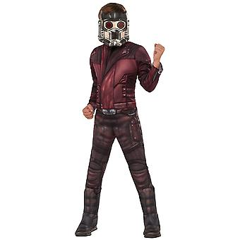 Star-Lord Starlord Peter Marvel Guardians Of The Galaxy superheld Boys kostuum