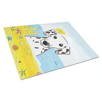 Carolineøerne skatte BB2078LCB dalmatiner sommer strand glasset skærebræt stor