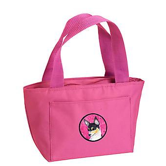 Carolines Treasures  SS4794-PK-8808 Pink Chihuahua  Lunch Bag or Doggie Bag SS47