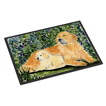 Carolines Treasures  SS8852MAT Golden Retriever Indoor Outdoor Mat 18x27 Doormat