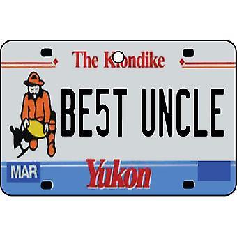 YUKON - beste oom License Plate auto luchtverfrisser