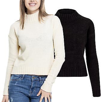 Urban klassikere damer - CHENILLE TURTLENECK sweater strik