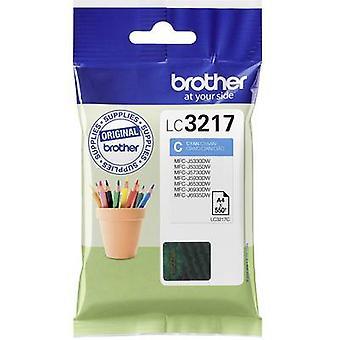 Brother inkt LC - 3217C origineel cyaan LC3217C