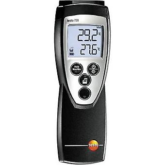 testo 0560 7207 Thermometer -100 up to +800 °C Sensor type Pt100, NTC Calibrated to: Manufacturers standards (no certificate)