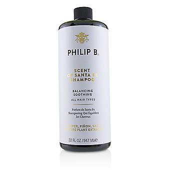 Filip Berglund doft av Santa Fe Shampoo (balanserande lugnande-alla hårtyper)-947ml/32oz