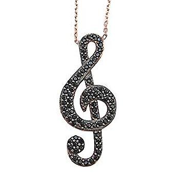 Music sign necklace