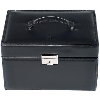 Gioielli gioielli gioielli in pelle nera gioielli scatola nera